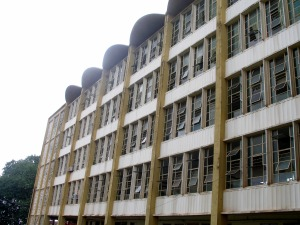 Komfo Anokye Teaching Hospital lacks many of the resources of an American hospital. Still, it is the main urban hospital serving Kumasi and has been standing since the 1950s.